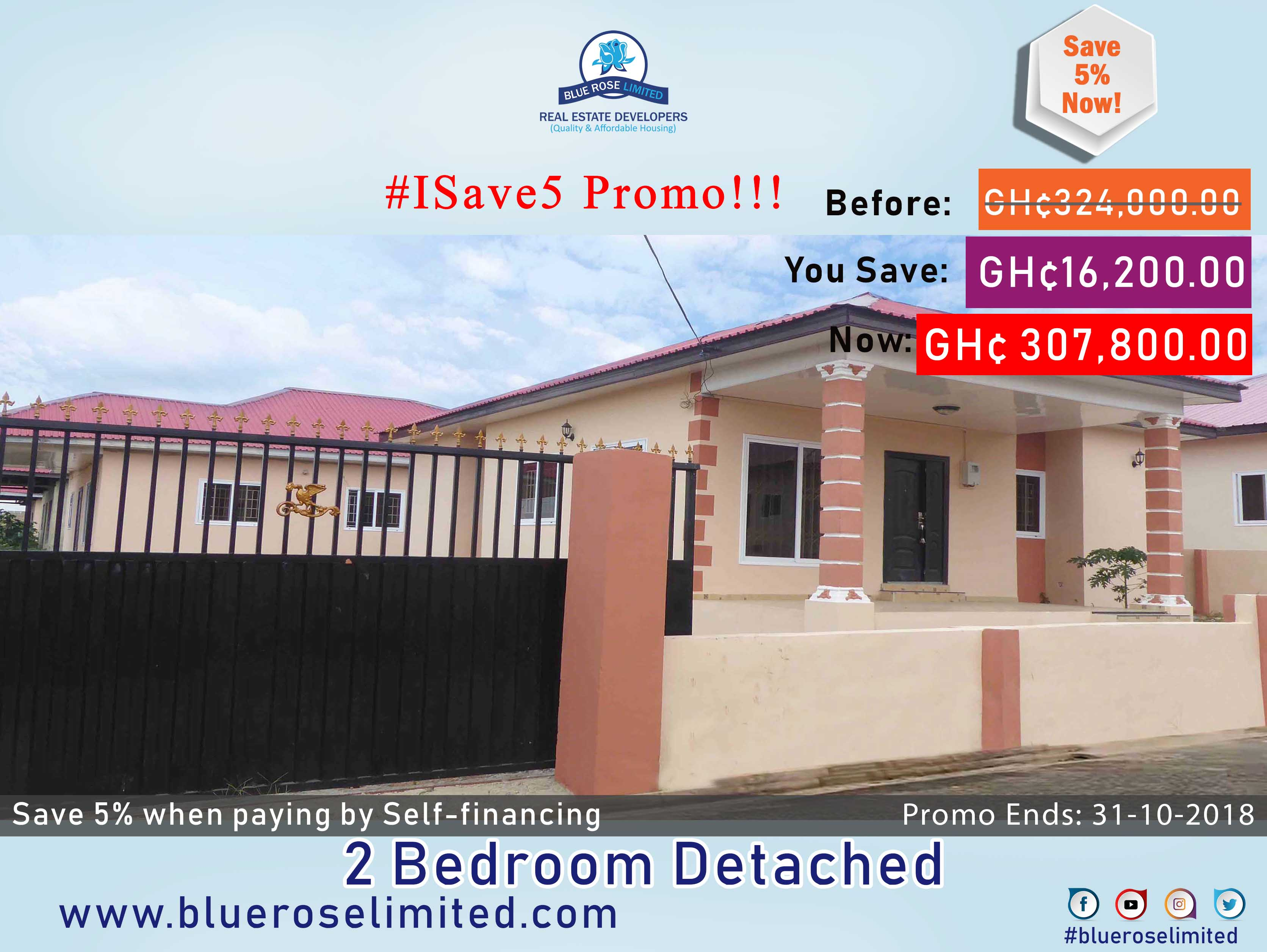 2 Bedroom Detached